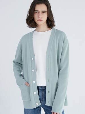 SOFT COTTON BLEND CARDIGAN [NEO MINT]