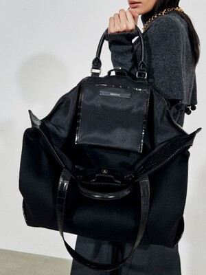 Moi Shopper bag_ Black