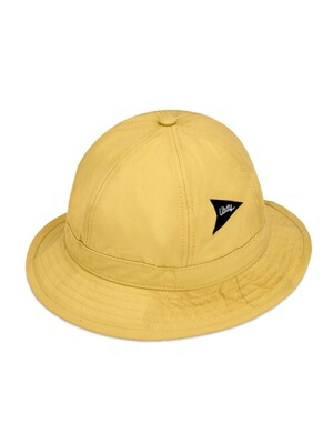 HL055_Nylon Bucket Hat_Mustard