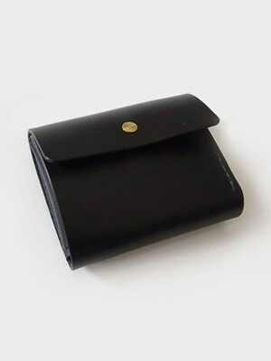 131 trifold wallet (black)