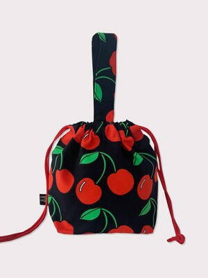 Cherry string bag