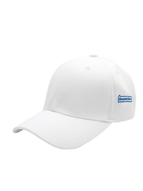 THE NEW PLACE BALL CAP(무지볼캡) - WHITE