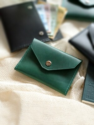 2-way Card Case-Green