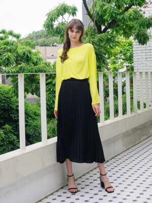 Dijon Pleats Skirt (2color)