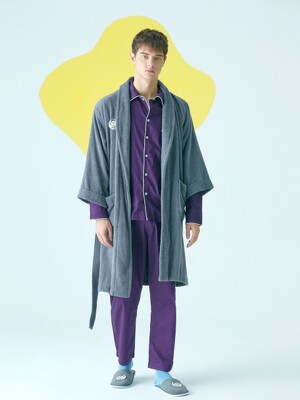 Grey Premium Robe [Men]