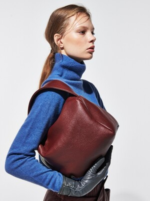 PETIT COURRIER BURGUNDY [ALL LEATHER]