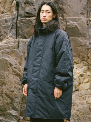 MILL LEVEL7 TYPE-2 LONG PARKA BLACK