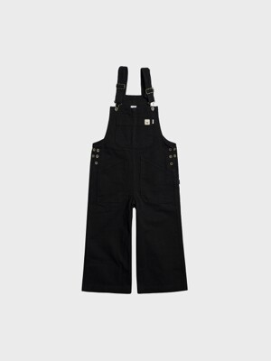 C19-4 Cotton Overall PT W #Black