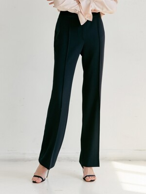 BREEZE Straight  trousers (Deep Navy)