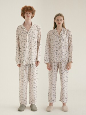 (인견) (Couple) Iris Pajama Set