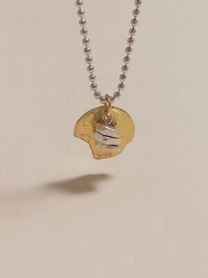 Broken Coin necklace