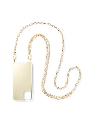 LOVE GOLD PEARL MIXED CHAIN CASE
