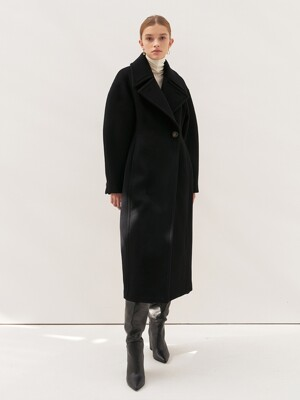 TTW CASHMERE LINE VOLUME COAT 2COLOR