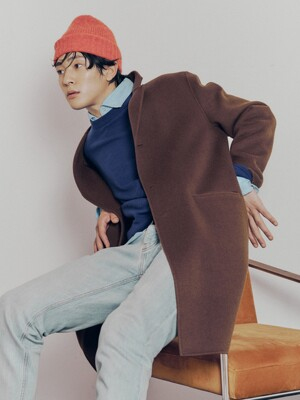 [리퍼브] Thermore® Padding added Handmade Wool Coat_2color