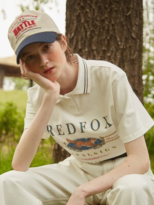 Red Fox Polo Shirt
