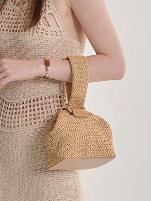 [단독]Bubble Basket Bag (2colors)