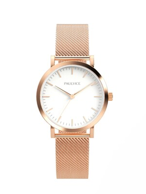 Emma Collection White - Rosegold PV301RG