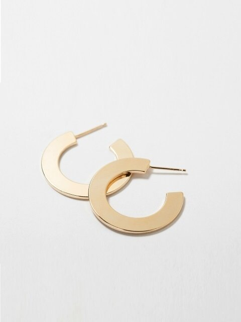SIDE HOOP EARRING