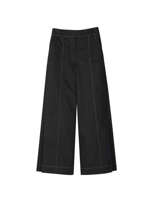 KASIA SIDE PLEAT PANTS apa251w(Black)