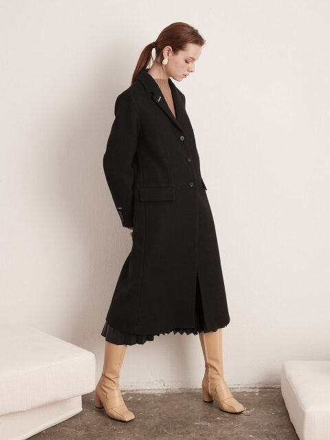 [EXCLUSIVE] Classic Single Long Coat