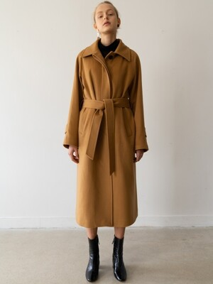 [ESSENTIAL] 캐시미어 Cashemere Single Coat Camel