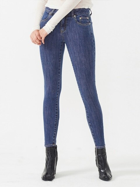 COLOR SKINNY PI JEAN
