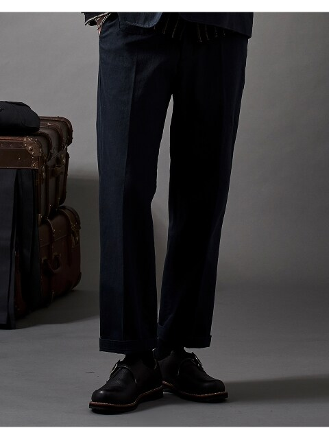 ANOTHER POCKET BESTMAN PANTS NAVY