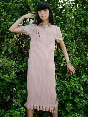 Daphne Dress (Dusty Pink)
