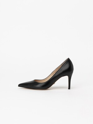 Chauffeur Stilletto Pumps in Black