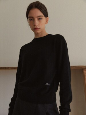 Eve Raccoon knit (Black)