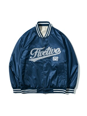 REVERSIBLE STADIUM JACKET [NAVY]