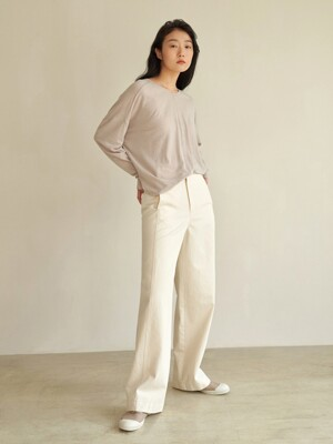hibe wide cotton pants