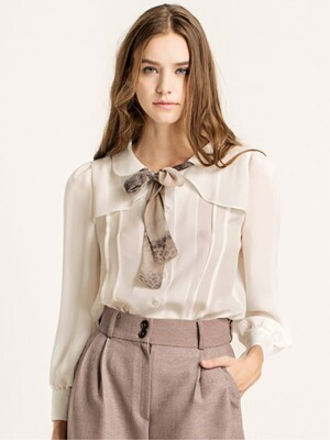Tie detailed blouse
