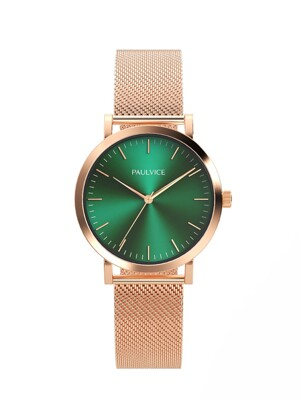 Emma Collection Emerald - Rosegold PV401EM