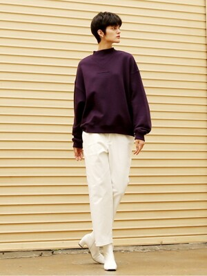 Side Tuck Pants_Ivory