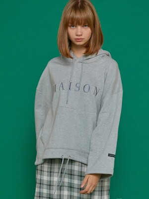 MAISON WIDE HOODIE GY