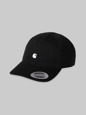 MADISON LOGO CAP_BLACK/WAX