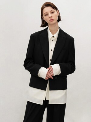 2-WAY CROP JACKET (BLACK)