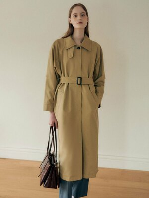 Cape single trench coat SW0AR301-91