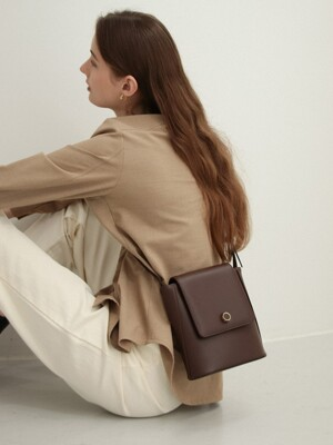 MINUTE BAG _CHOCO BROWN