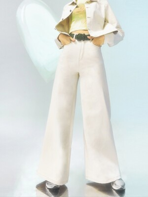 [CITY] Wide Pocket Pants_BEIGE (CTD1)