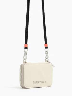 Small ivory nylon purse_B215AIV004IV