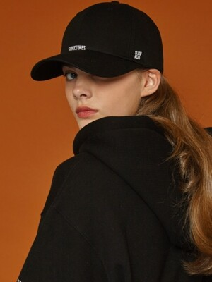 [UNISEX] Boundary Cap (black)