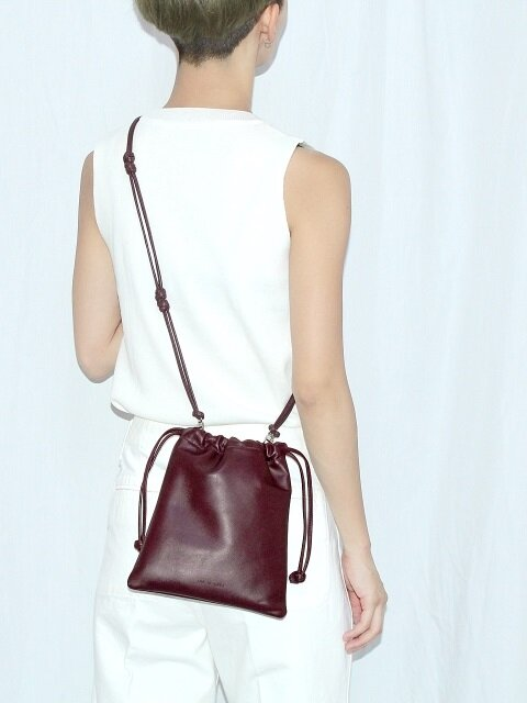 3-way string bag_wine