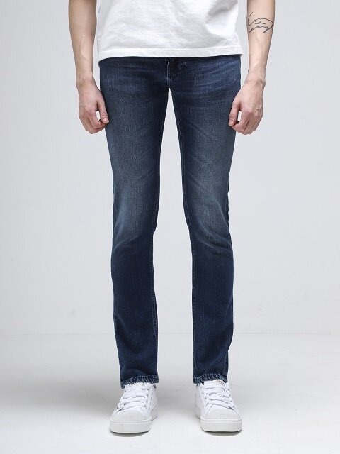 Thin Finn Black Weft Indigo 112918