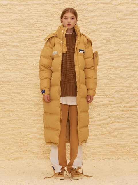 PUMA x ADER Down Coat - Taffy