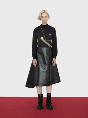 18AW COSMO SKIRT (BLACK)