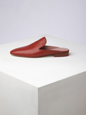 epke Back-less loafer(Terracotta)_OK2CX20001CHC