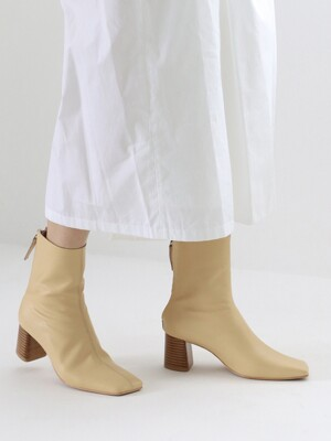 WQ middle boots_yellowbeige_20511