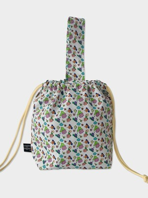 Flower garden string bag